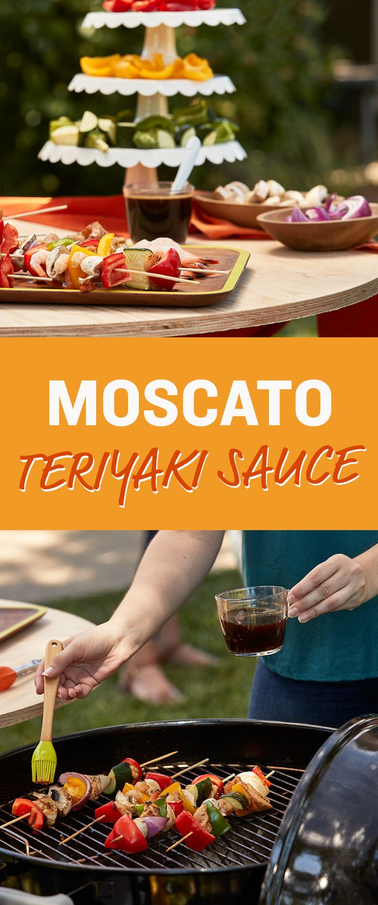 Wow your friends with this Moscato Teriyaki Sauce!