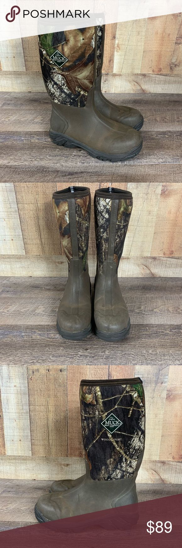 The Original Muck Boot Company Woody Sport Boot Size 10