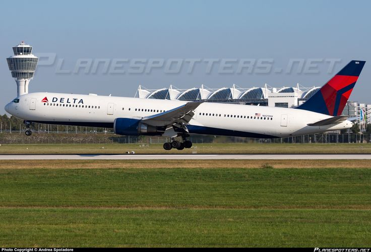 N829MH Delta Air Lines Boeing 767-432(ER) photographed at Munich - Franz Josef Strauss (MUC / EDDM) by Andrea Spoladore
