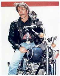 Sam Elliott ... and a Harley ... that is all <3
