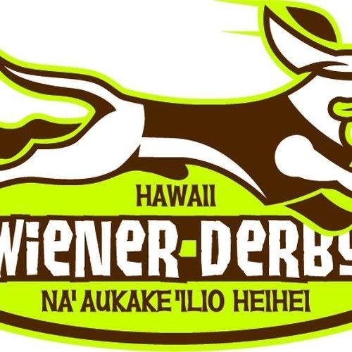 Create a cute & hip logo for Hawaii Wiener Derby
