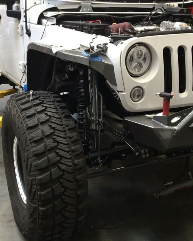 Another @bruiserconversions LS3 JK in a 2015 Jeep JK unlimited for @dslange_jk many of you know this was our ground up build. That we posted pictures of the frame when it got back from powder coat.  #ls3jk #gmperformance #bruiserconversions #jeep #ls3jeep #dixie4wheeldrive #southernutahspremier4x4shop