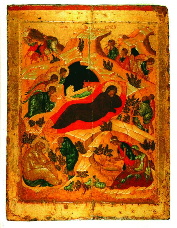 Начало XV в.  Рождество Христово.