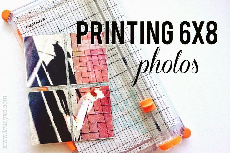 Project Life: Printing 6x8 Photos   the single girl's scrapbook