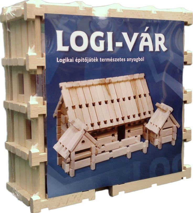 LOGI-VÁR magyar fejlesztésű, natúr fából készült építőjáték. Különlegessége,hogy az építőelemek az igazi, rönkfa építkezéshez használt elemek méretarányos kicsinyített másai.A gerendák csapolással illeszthetők egymáshoz, ami stabillá teszi az elkészült alkotást és építkezés közben sem esnek szét az elemek.A LOGI-VÁR fa építőjátékból bármi építhető amit az ifjú építőmester fantáziája kitalál: épület, repülőgép, hadihajó, babaszoba bútor, vármakett, kút, híd. Bővebb infó…