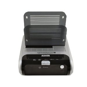 Anker USB 3.0 2.5/3.5-inch SATA Hard Drive docking station(two slots) - Black(support data clone between two disks) (Electronics)  http://www.connecticainc.com/store/afile.php?p=B005UA3I72  B005UA3I72  Connectica Shopping