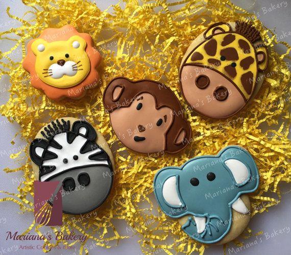 zoo animal safari baby shower birthday sugar by
