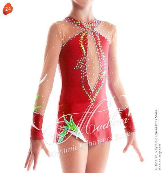 Rhythmic Gymnastics Leotard, Ice Figure Skating Dress,  24