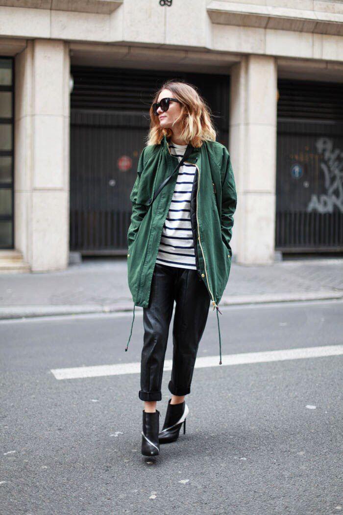 Green and Breton stripes
