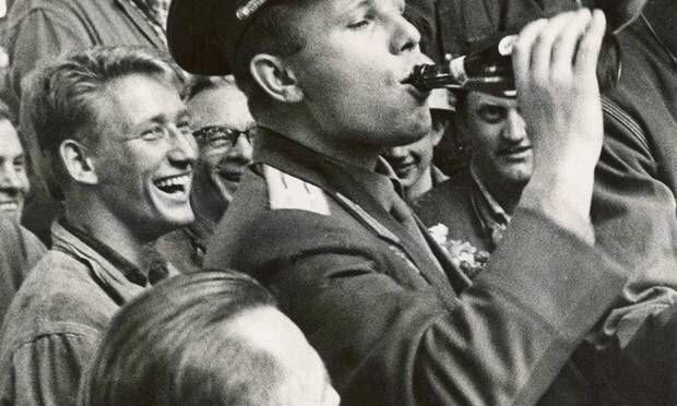 Yuri Gagarin in Copenhagen i 1962