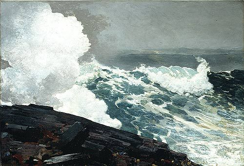 winslow homer—Inspiration for WHEN A LAIRD FINDS A LASS by Lecia Cornwall 1/11/16
