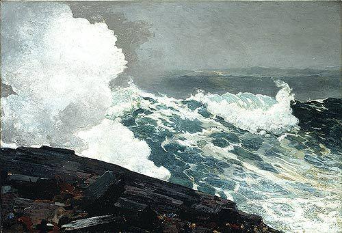 Winslow Homer Northeaster Oil Painting Giclee Fine Art Canvas Print