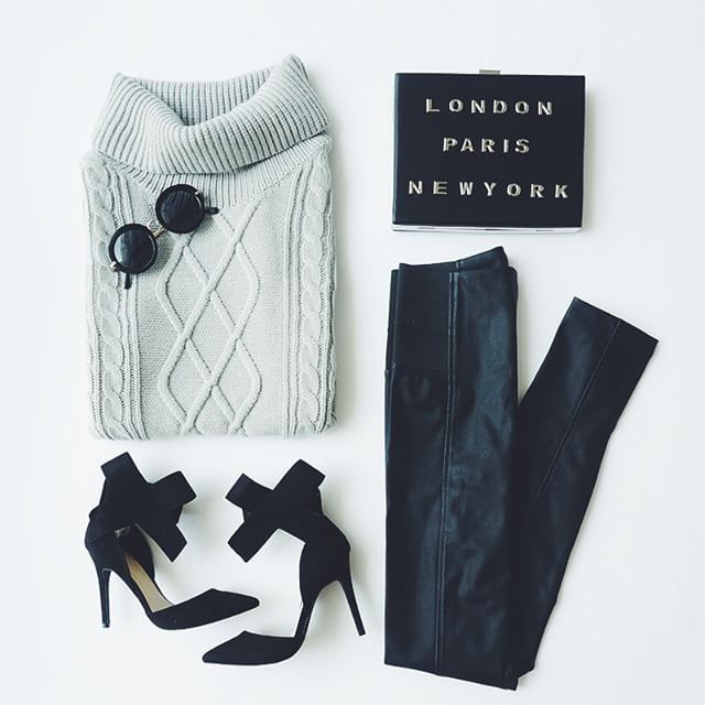 knits/leather/bows ❤️ #ootd #chic #LOVELULUS