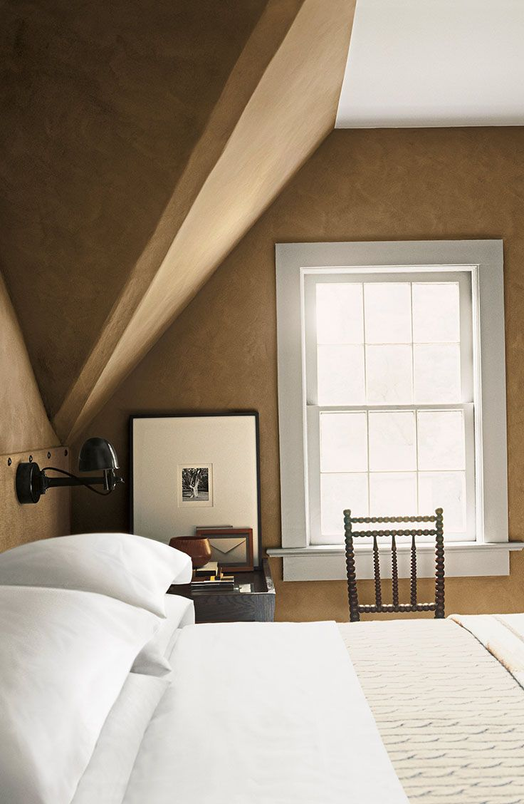 This Is Now The Accent Wall In My Master Bedroom Ralph Lauren Paint S Suede Finish Sandy Bank