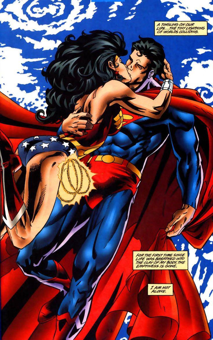 Superman & Wonder Woman. Me & Hubby...Shhh