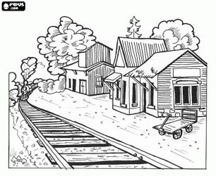 Lovely Western Coloring Books