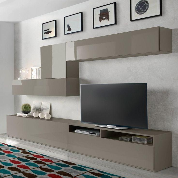 Meuble TV design mural Samburlo ATYLIA