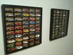 Hot Wheels Display Case | IKEA Hackers: Ribba Hot Wheels Display Case