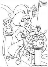 peter pan 2 coloring pages - photo#25