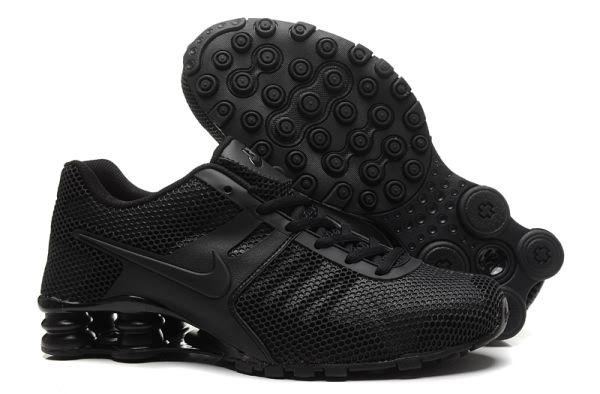 Nike Shox Current KPU Men Running shoes All Black