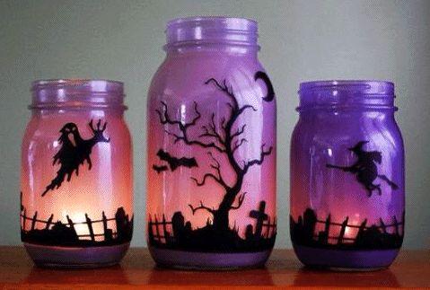 Halloween Mason Jars | Decor for the Holidays