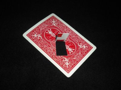 2 Magic Ways to Levitate a Playing Card: Step Two: Make the Floating Card Gimmick