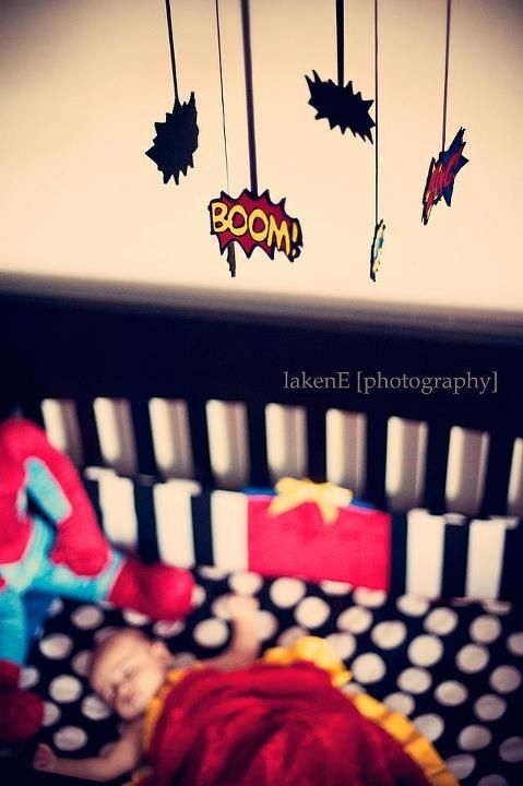 Comic book nursery