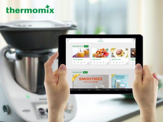 Application Officielle Thermomix® Cookidoo® par Vorwerk International Mittelsten Scheid & Co.