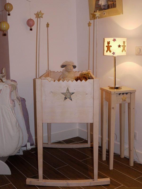 Berceau Montana, belle ambiance bébé, plus d'infos sur anders-paris.com