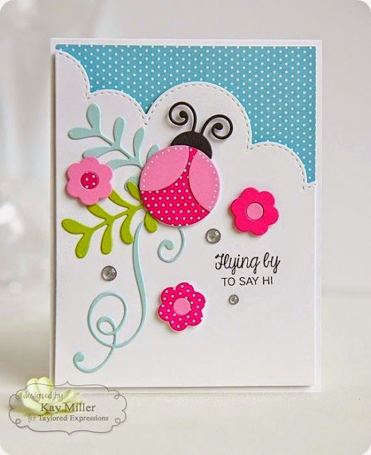 Taylored Expressions: Flying By...GORGEOUS CARD...GORGEOUS COLOURS...