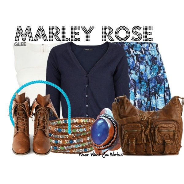 Inspired by Melissa Benoist as Marley Rose on Glee