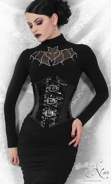 Goth Fashion - PVC Corset from Gallery Serpentine Gothic Fashion goth gothic style fashion girl women https://www.facebook.com/alternativestylepolska