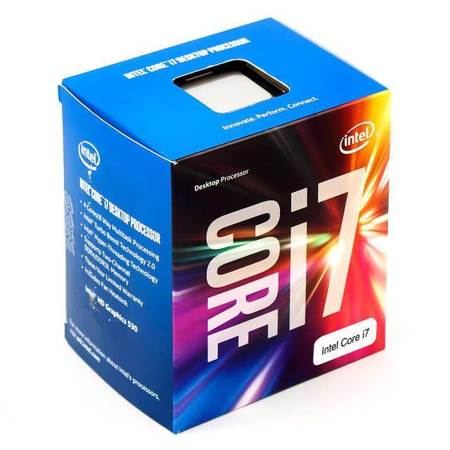 Intel Core i7-7700 Kaby Lake Processor 3.6GHz 8.0GT/s 8MB LGA 1151 CPU Retail
