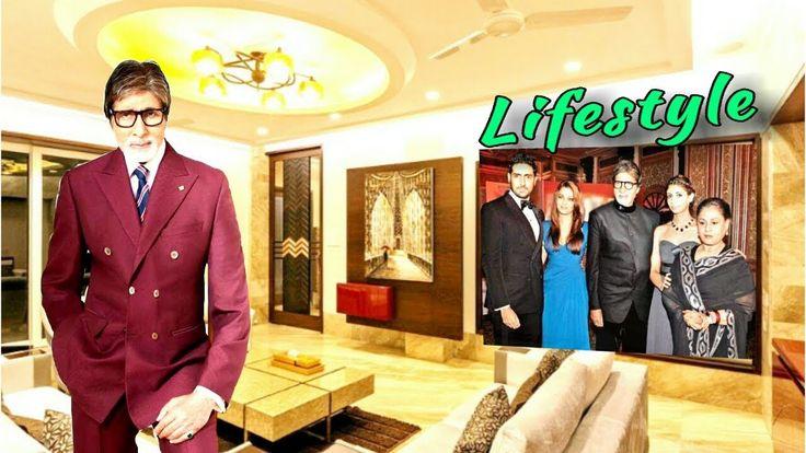 Amitabh bachchan lifestyle net worth salary house