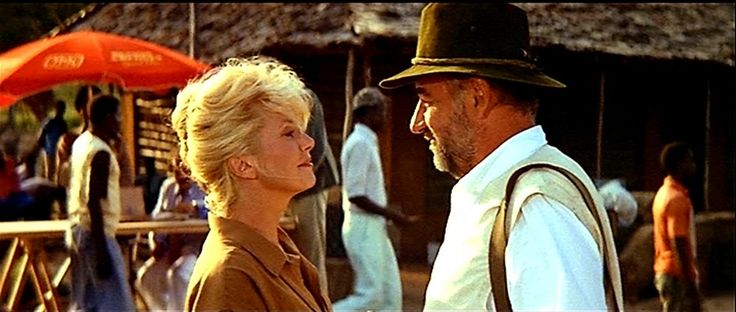 Catherine Deneuve and Philippe Noiret in L'Africain by Philippe de Broca