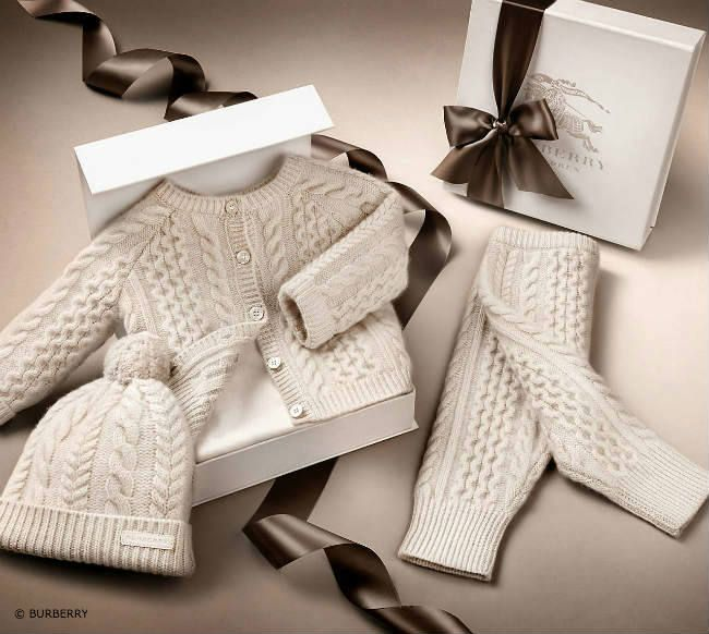 Burberry Baby Cashmere Gift Box | Dashin Fashion