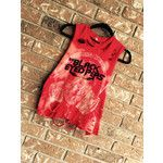 BLACK EYED PEAS cut and distressed tank top, concert wear, bleached t shirt rock n roll, heavy metal, size Medium