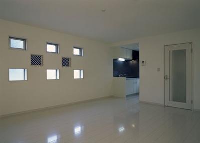 パナソニック耐震住宅工法テクノストラクチャーで建設されたアパート:青の部屋