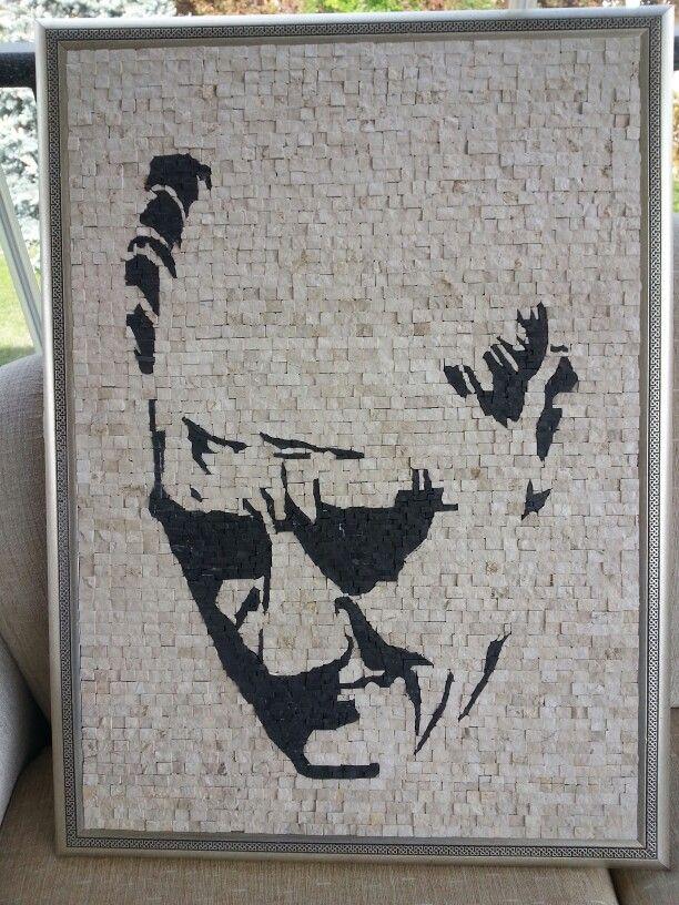 Atatürk mosaic art