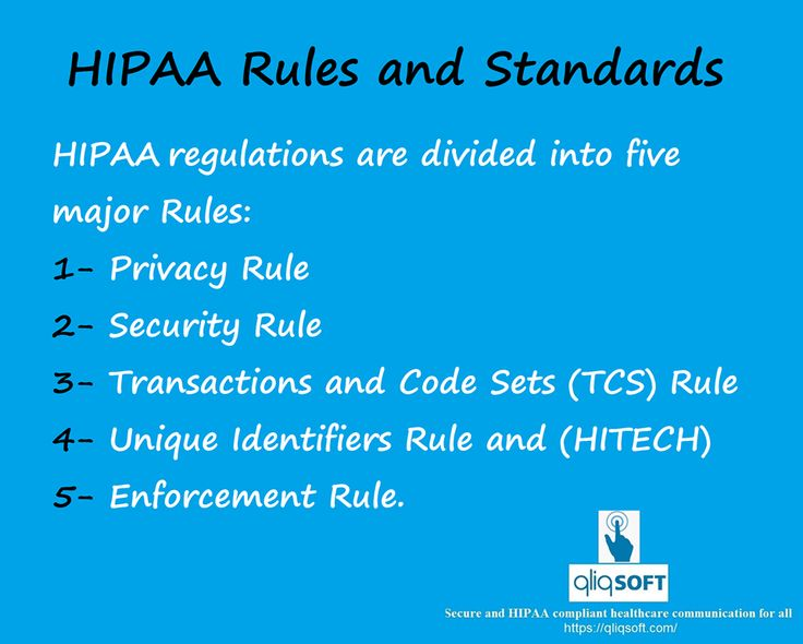 In case you did not know, #HIPAA (The Health Insurance Portability and  Accountability