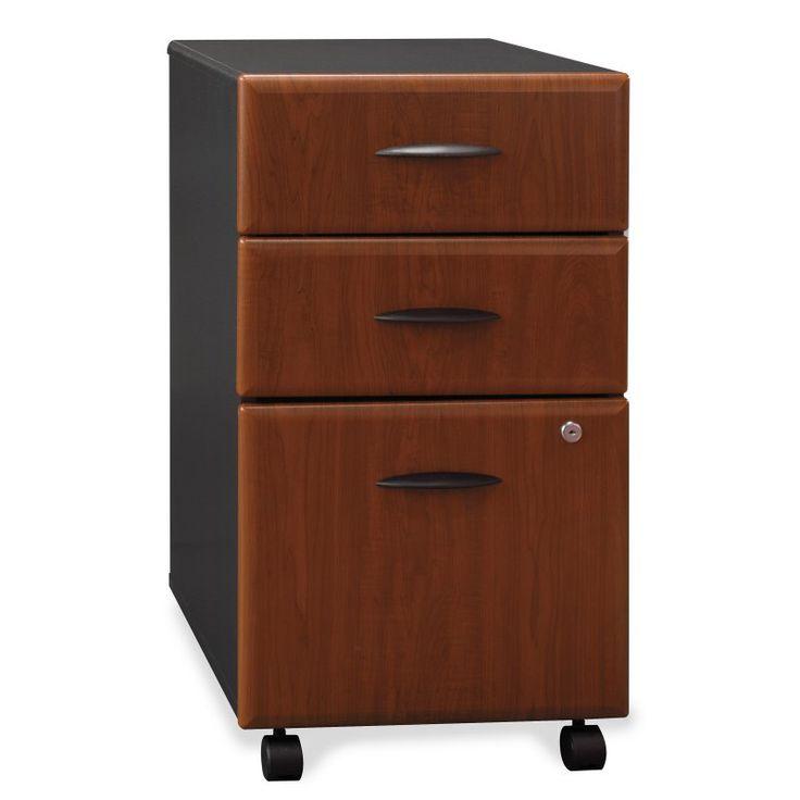 Bush Series A File Cabinet - 3 Drawer - WC57453