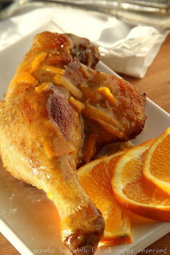 Profumi in cucina: Coscio d'anatra all'arancia