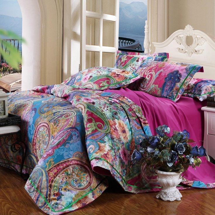 25 best re do bedroom images on pinterest bedrooms for Best color bed sheets