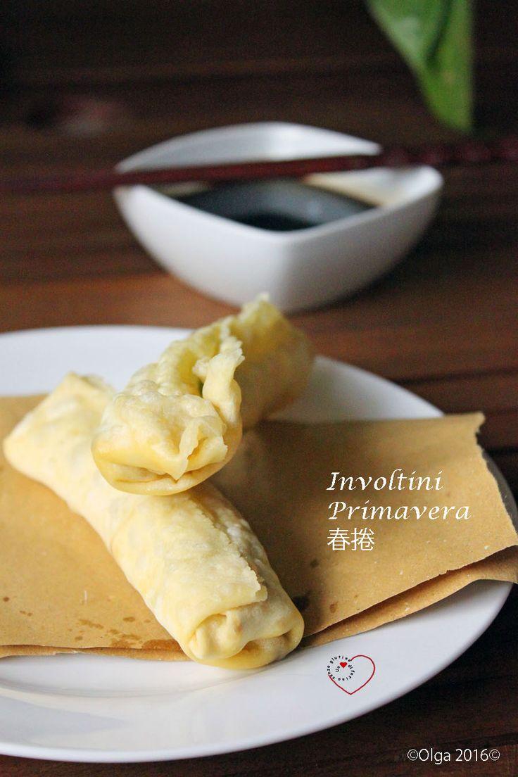 Pasta Wonton – Involtini Primavera