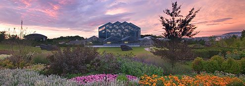 The Lena Meijer Conservatory at Frederik Meijer Gardens & Sculpture Park in Grand Rapids, Michigan