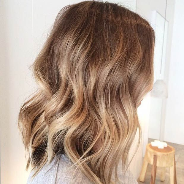 Lob Nothing will complement your look quite like a good hairstyle