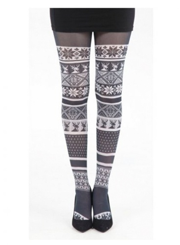 Cute Tights For Chilly Days : 10 Cute Looks