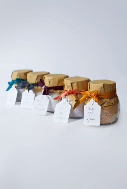 Sale aromatizzato - Flavored salt