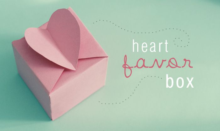 DIY Paper Heart Box Tutorial!
