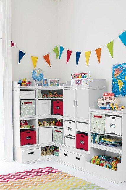 Clear Clutter - Kids' Bedroom Ideas - Childrens Room, Furniture, Decorating (houseandgarden.co.uk)